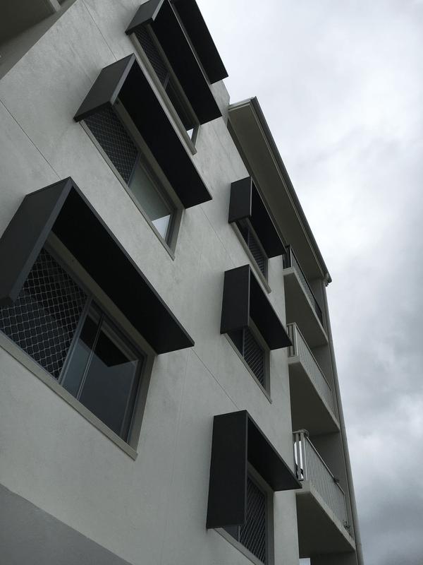 Aluminium Screens And Sunhoods Versatile Structures