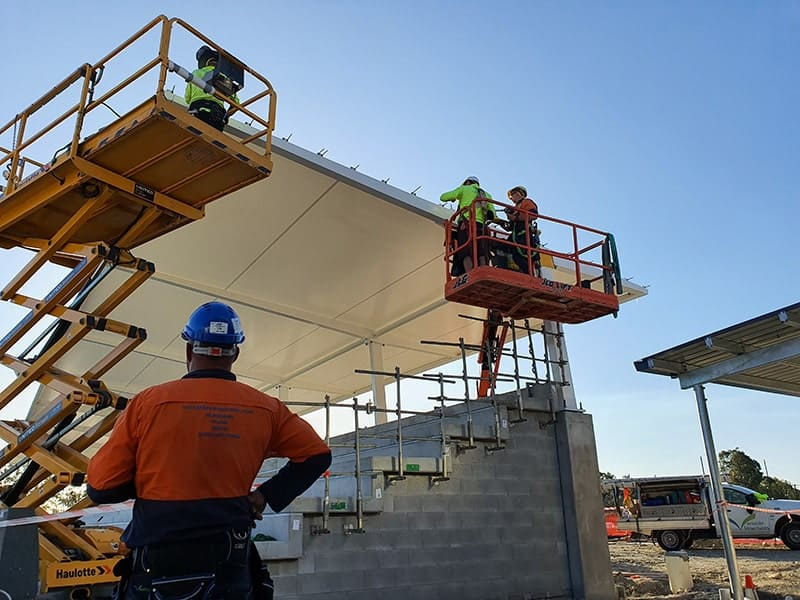 Reputable shade structure operator