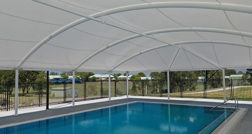 Commercial Pool Shade Structure
